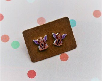 Fairy Earrings, Teeny Tiny Earrings, Faerie Jewelry, Cute Earrings