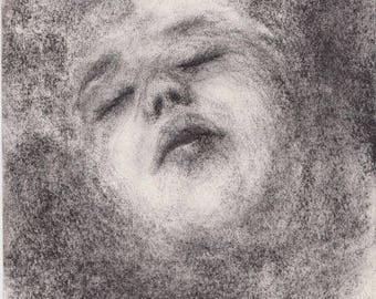 Original sketch by Françoise Stéfanski - Sidéré #13