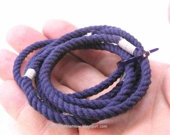 navy string bracelets soft bangles nothing bracelets skinny string bracelets grommet bracelets 3173
