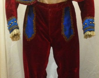 "1920's, 42"" chest, 3 piece toreador/matador costume,"