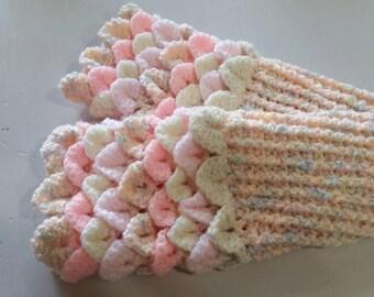 Fairy mittens - dragon scale gloves - mermaid gloves - crocodile gloves - mermaid mitts - fingerless gloves