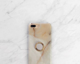 Ring Grip Phone Holder Onyx Case iPhone and Samsung Galaxy Finger Loop Ring Stand