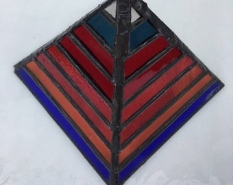 Stained Glass Pyramid