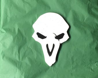 Reaper Overwatch Game Art Emblem