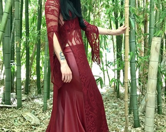 NEW: The Red Queen Ensemble by Opal Moon Designs (Size S, M, L)