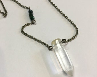 Crystal and Moss Agate