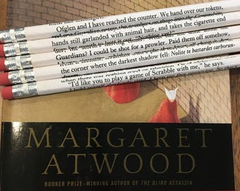 The Handmaid's Tale Wrapped Pencil Set