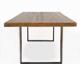 Modern Rustic Dining Table , Reclaimed Wood Dining Table , Wood Dining Tables . Choice of size, height and finish