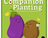 Companion Planting Infographic Chart: A Gardener's Friend–3rd Edition