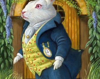 The White Rabbit's Door - Original by Olivia Beaumont