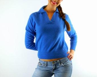Blue sweater vintage   Etsy