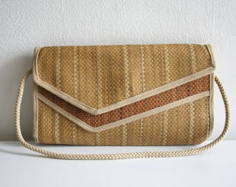 SALE Italian Woven Sisal Bag