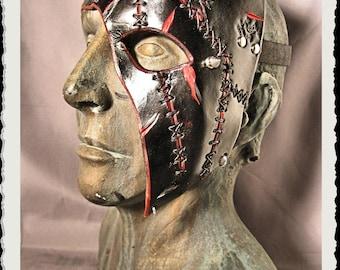 Leather half mask - Katacomb -