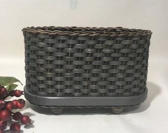 Napkin Basket / Jelly Basket / Gift Basket /  Handwoven Basket-Primitive Style
