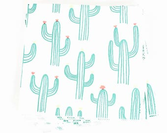 Cactus Napkins - Mexican Fiesta Party Decor, Summer Table Decor, Taco Bar, Cinco de Mayo, Bachelorette Party Decorations, Southwest Wedding