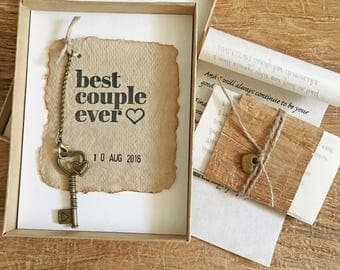 paper anniversary gift 1st anniversary gift for husband one year wedding anniversary rustic gift
