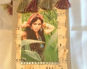 Junk Journal, handmade Journal, Gypsy Journal, Shabby Chic Journal, Travel Journal, Writing Journal, Blank Journal