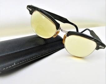 Vintage Cat Eye Glasses | 1950s Glasses | Cat Eye Frames | Eye Glass Case – As Is