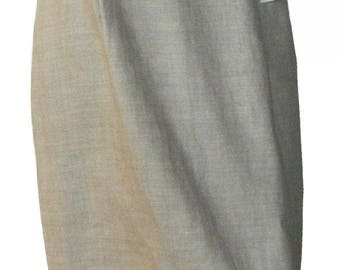 Vintage Irish Linen Skirt by Brooks Brothers