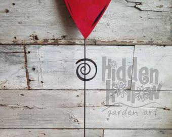 LOVE Stake for Garden or Home - Hidden Hollow Garden Art