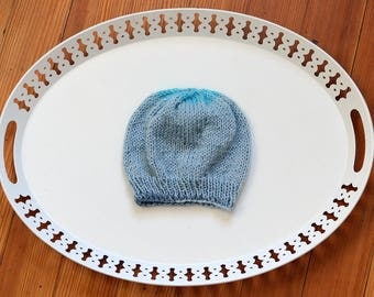 Hand Knit Child Hat - Christmas Gift Idea - Gifts for Her - Gifts for Him - Child Size - Knitwear