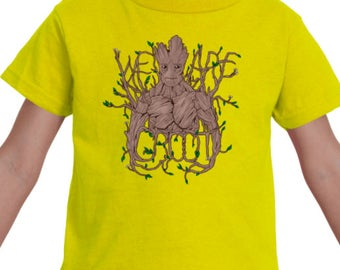TODDLER TEE -- We Are Groot Guardians of the Galaxy Fan Art Top