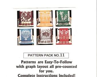 Six Unique Macrame Chair Patterns Pac 11