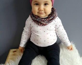 Baby Scarf | Slouchy Scarf | Infinity Scarf| Toddler Scarf | Leopard Scarf | Hipster Scarf | Winter Scarf | Scarf Bib