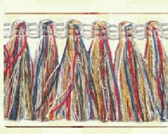 Fringe Trim Multicolor 2 metres