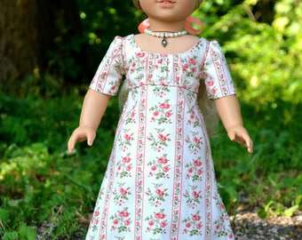 Doll Dress Regency for American Girl 18 inch doll Caroline Josephina