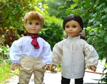 Doll shirt for American Girl boy dolls