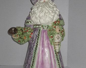 Renaissance Ceramic Santa
