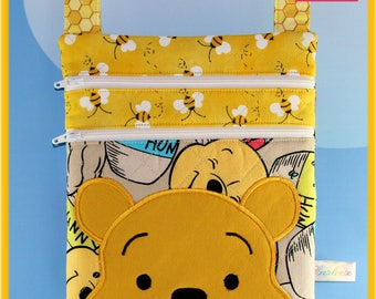 Small Disney Cross Body Applique Winnie the Pooh Bag