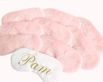 Custom name sleep mask
