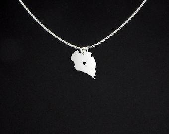 Koh Phangan Necklace - Ko Pha Ngan Jewelry - Ko Pha Ngan Gift