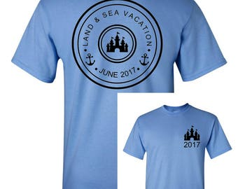 Land & Sea Vacation Tshirts ~~ Land Sea Vacation Tees ~~ Family Vacation Tshirts ~~ Family Vacation Tees ~~ Cruise Tshirts ~~ Cruise Tees ~~