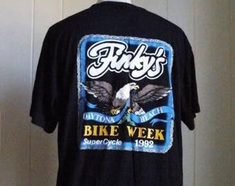 Daytona Beach Florida Bike Week 1992 T Shirt Men Sz XL