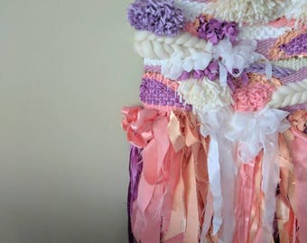Pageant Princess Woven Wall Hanging / weave / wall art
