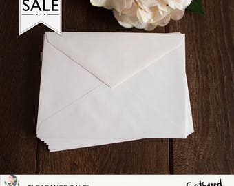 CLEARANCE - A7 Envelopes { White }