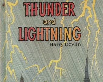 weather folklore picture book Tales of Thunder and Lightning, Harry Devlin, myths, legends, folktales, folk tales, folk lore, porquoi tales