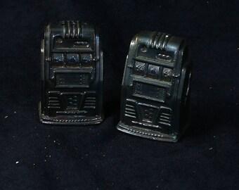 Vintage Slot Machine Salt & Pepper Shakers
