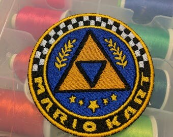 Triforce Cup patch from Mario Kart 8