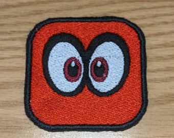Cappy from Super Mario Odyssey embroidered patch