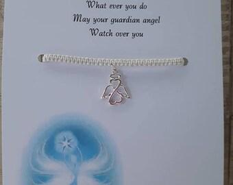 Guardian Angel friendship Bracelet
