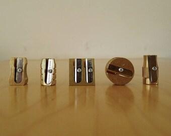 Brass pencil sharpener M+R x1