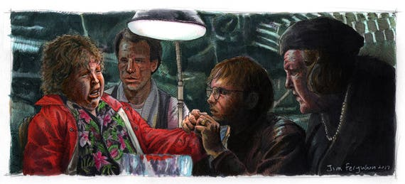 The Goonies - Hit Puree Poster Print