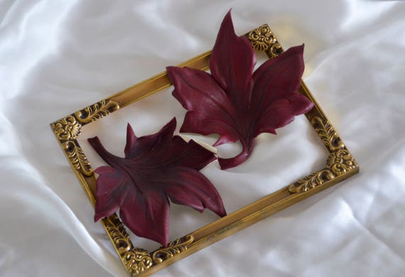Maple Leaf Brooch