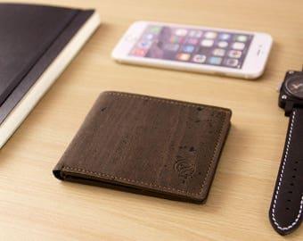 Front Pocket Men Wallet - Slim Minimalist Wallet Sustainable Vegan Wallets for Man (CK153)