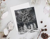Silent Night, Holy Night - A2 Note Card Boxed Set