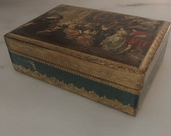 Very pretty Florentine Italian Box
